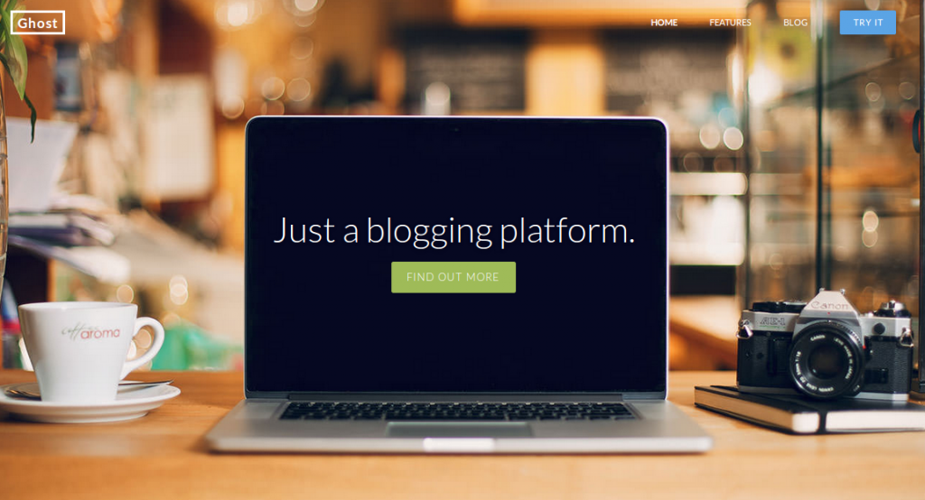 Ghost blogging platform - Mobiloitte Blog