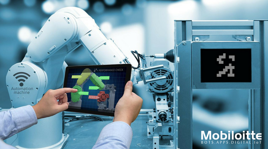 Industry 4.0 Manufacturing and Automated Visual inspection