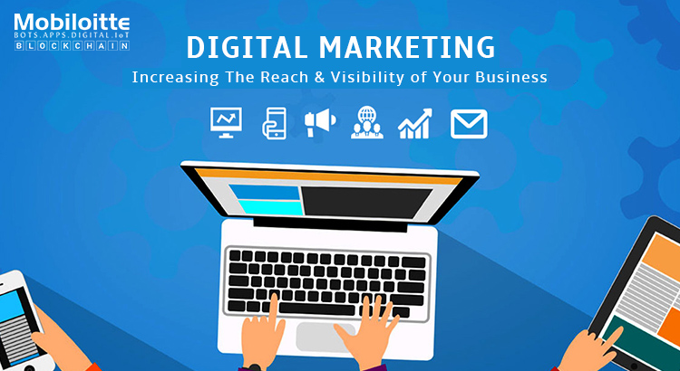 Digital Marketing - Mobiloitte